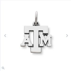 James Avery Texas A&M University Charm and Chain